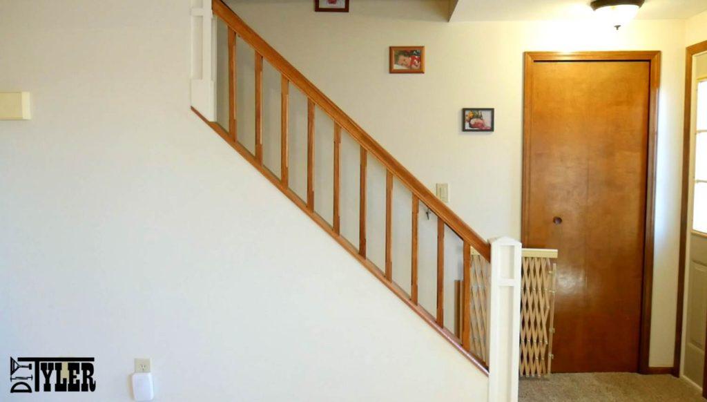 Build A Stair Railing For A Half Wall - DIYTyler
